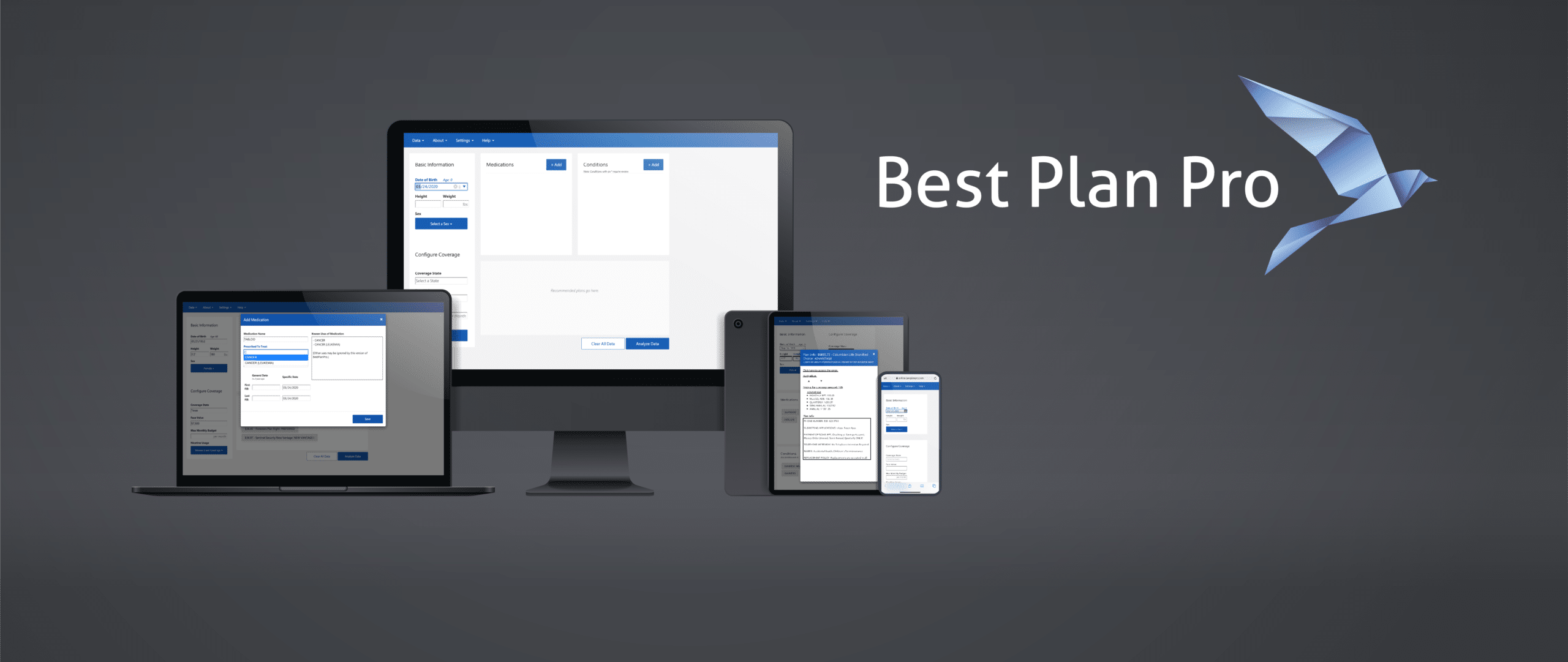 BestPlanPro Final Expense Underwriting Tool