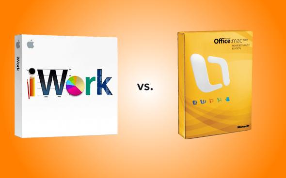 iWork and Microsoft Office