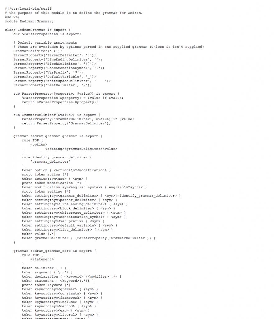 zedram-code